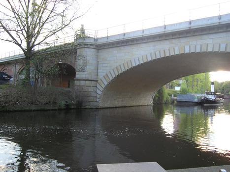 Untere Schleusenbrücke, Berlin-Charlottenburg
