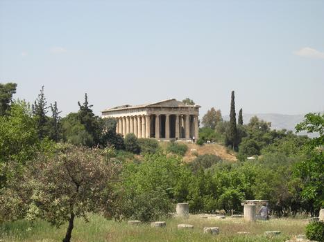 Temple d'Héphaïstos, Athènes