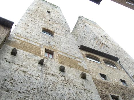 Zwillingstürme, San Gimignano