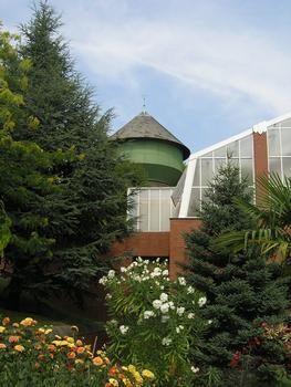 Jardin botanique de BerlinNouvelle serre