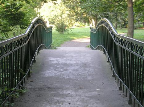 Fußgängerbrücke Schlosspark Charlottenburg