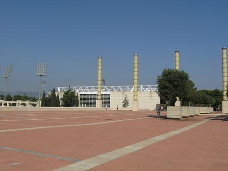 Olympic Plaza at Barcelona