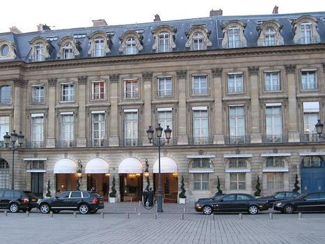Hotel Ritz Carlton, Place Vendome, Paris