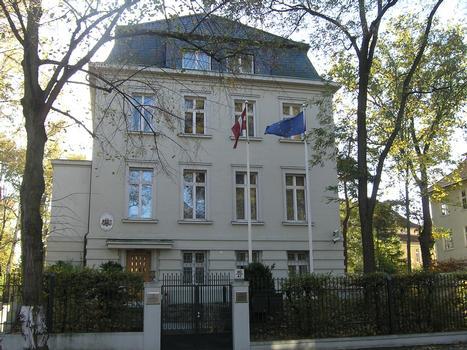 Botschaft der Republik Lettland, Berlin