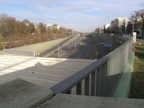 Feuerbachtunnel (A 103, Westtangente), Berlin-Steglitz