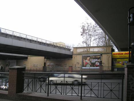 S-Bahnbrücke über Albrechtstraße, Berlin-Steglitz