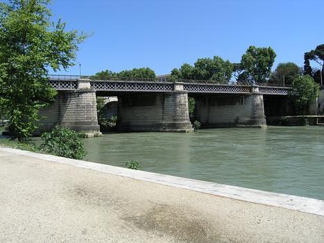 Ponte Palatino Ponte inglese), Rom