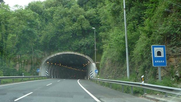 Amara Tunnel, Autopista del Cantabrico