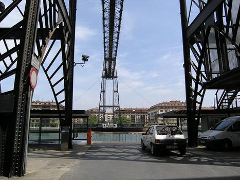 Puente de Vizcaya, Portugalete, Spanien