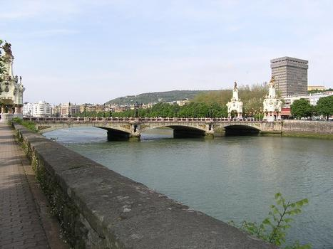 Puente Maria Cristina, San Sebastian, Spanien