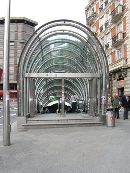 Metro Station Plaza Moyúa, Bilbao (Fosterito)