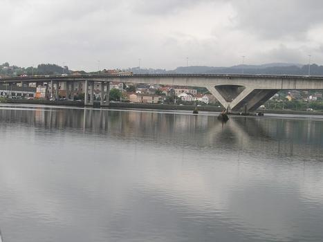 Ponte da Ria, Pontevedra, Spanien