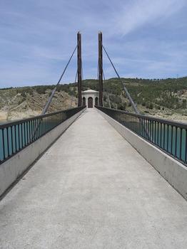 Passerelle de la tour du barrage Francisco Abellán