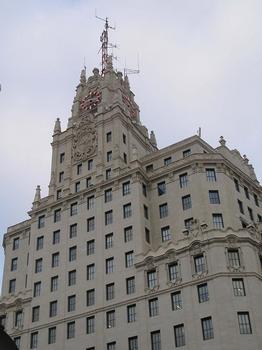 Edificio Telefonica, Madrid