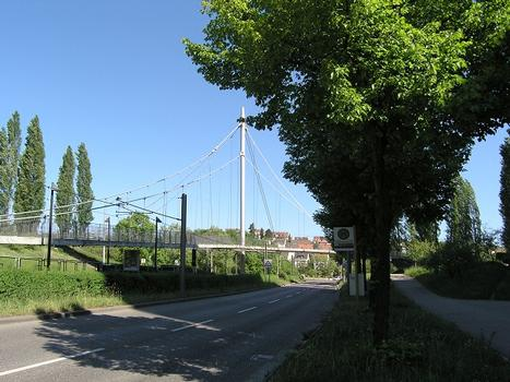 Fußgängerbrücke über die Heilbronner Strasse, Stuttgart