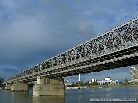 Old Danube Bridge, Bratislava.