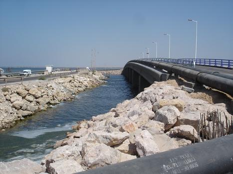 Djerba Bridge, Tunisia