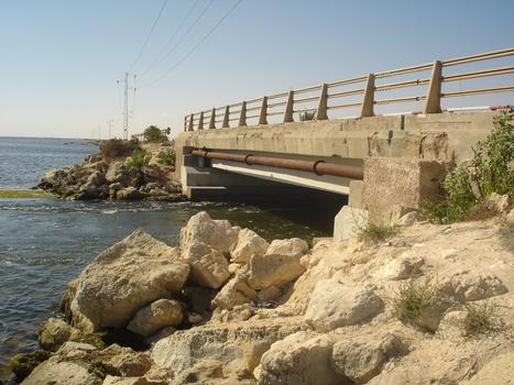 Roman causeway between the Island of Djerba and Zarzis