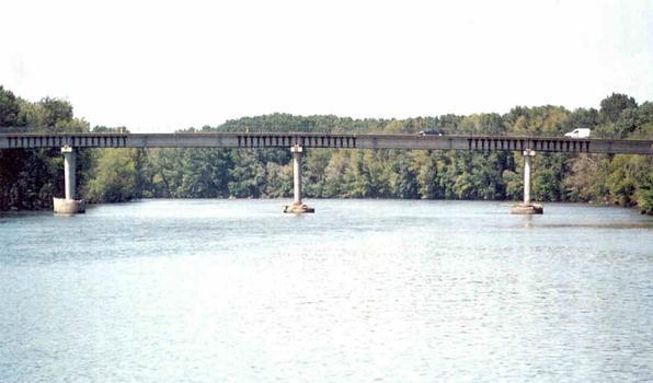 Garonnebrücke Gagnac-sur-Garonne