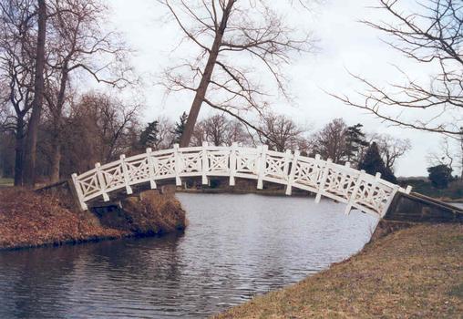 Pont blanc, Wörlitz, Saxe-Anhalt