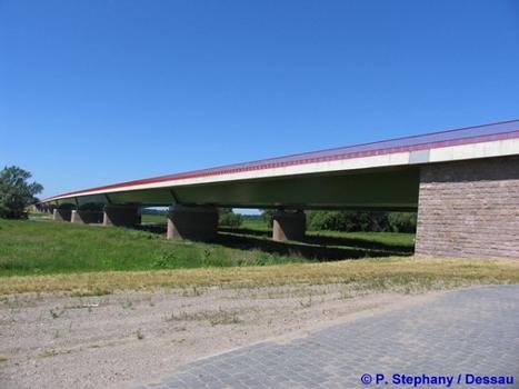 Elbebrücke Vockerode, Sachsen-Anhalt