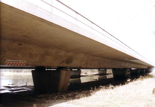 Muldeflutbrücke; Dessau; Sachsen-Anhalt
