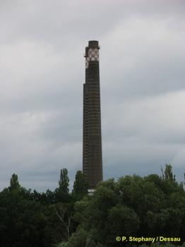 Bahnkraftwerk Muldenstein, Friedersdorf, Sachsen-Anhalt