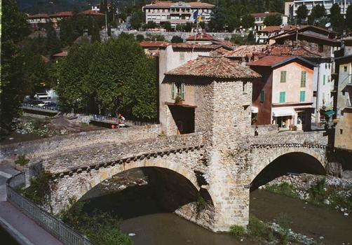 Pont sur la Bevera, Sospel, France