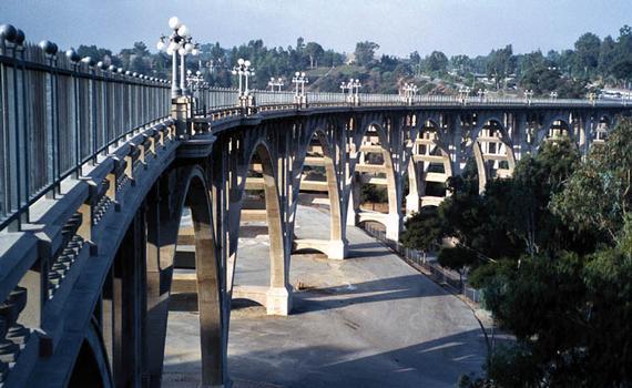 Colorado Street Bridge, Pasadena, California.