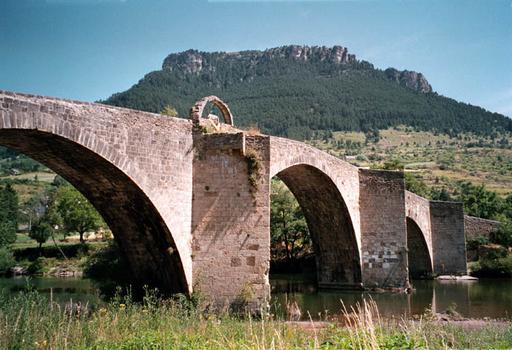 Brücke in Quézac