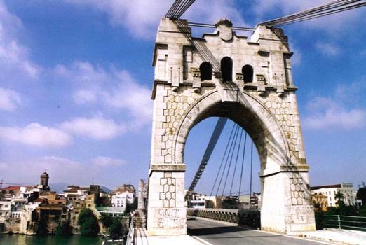 Pont suspendu d'Amposta