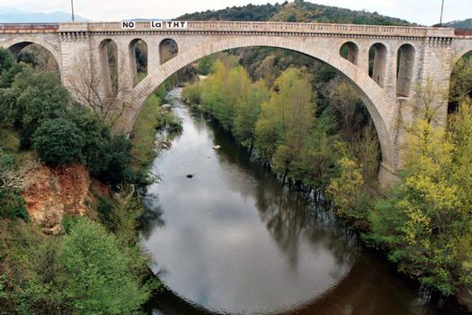 Eisenbahnbrücke Céret