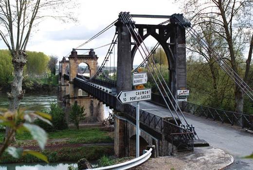 Hängebrücke Agenais