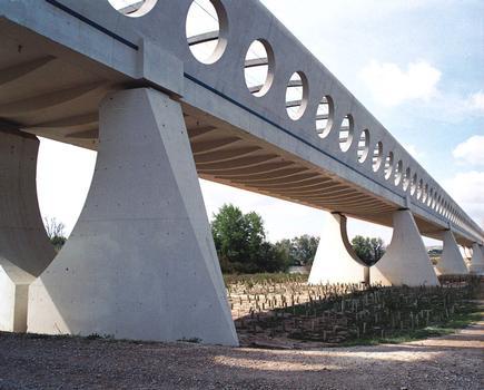 Eisenbahnbrücke Osera de Ebro