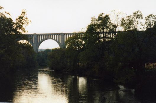 Tunkhannock Creek Railroad Viaduct Nicholson, Pennsylvania USA