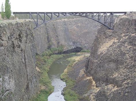 Crooked River Railroad Bridge, Terrebonne, Oregon