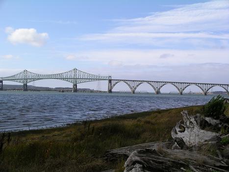 McCullough Memorial Bridge Coos Bay Bridge North Bend, Oregon USA