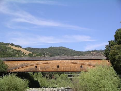 Bridgeport Covered Bridge, Grassvalley, California USA