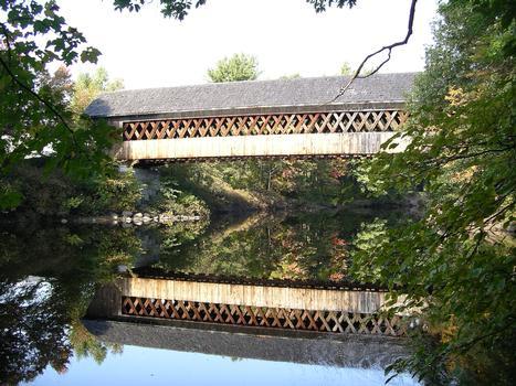 Henniker Covered Bridge, Henniker, New Hampshire, USA