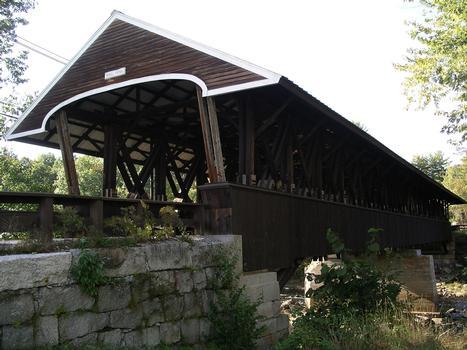 Rowell Covered Bridge Hopkinton, New Hampshire USA