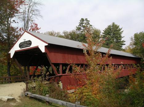 Swift River Covered Bridge, Conway, New Hampshire, USA