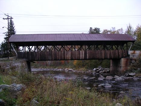 Mechanic Street Covered Bridge Lancaster, New Hampshire USA