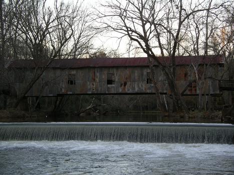 Kymulga Mill Covered Bridge Childersburg, Alabama USA