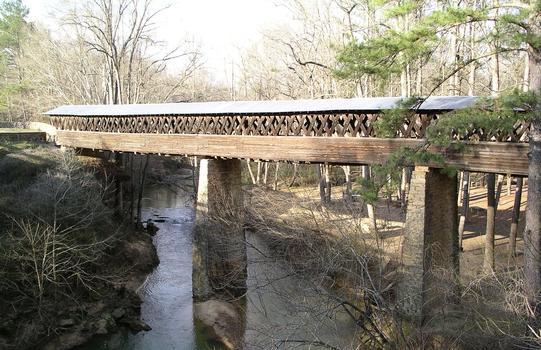 Clarkson Covered Bridge Clarkson-Legg Covered Bridge Crooked Creek Clarkson, Alabama USA