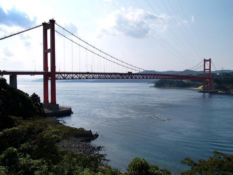 Hirado Bridge, Nagasaki, Japan.