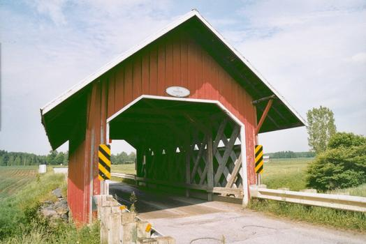 Pont Guthrie, Saint-Armand, Québec, Canada