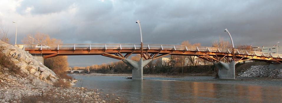 Pont de bois de Crest