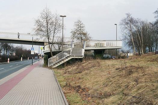 «Am Rosenplätzchen» Footbridge, Dortmund