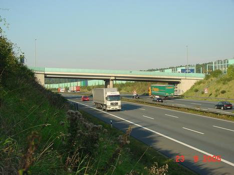 Vogelsanger Strasse Bridge across the A1 at Wetter-Volmarstein