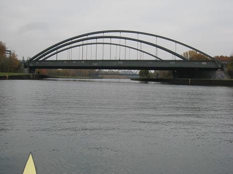 A 2 Motorway bridge across the Dortmund Ems Canal at Dortmund